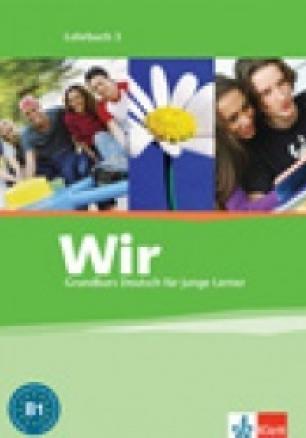 Wir 3: Учебник по немски език за 7. клас -  Lehrbuch 3 + Audio CD